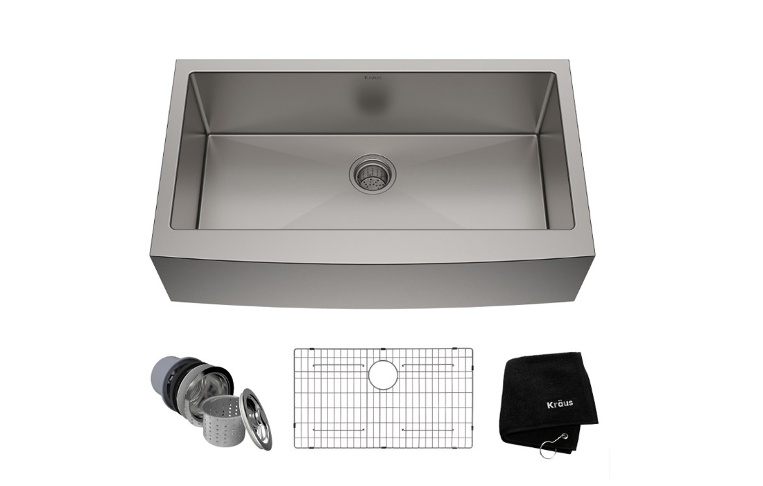 Kraus KHF200-36 Single Bowl Kitchen Sink