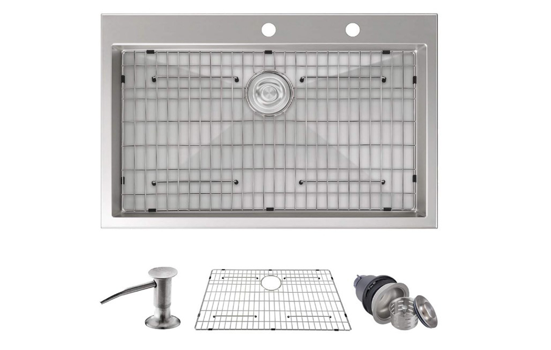 MOWA HTS3322 Pro Series Top Mount Kitchen Sink