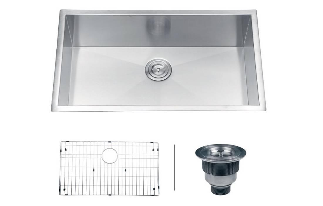 """Ruvati RVH7405 Undermount 16 Gauge 32"""" Kitchen Sink"""
