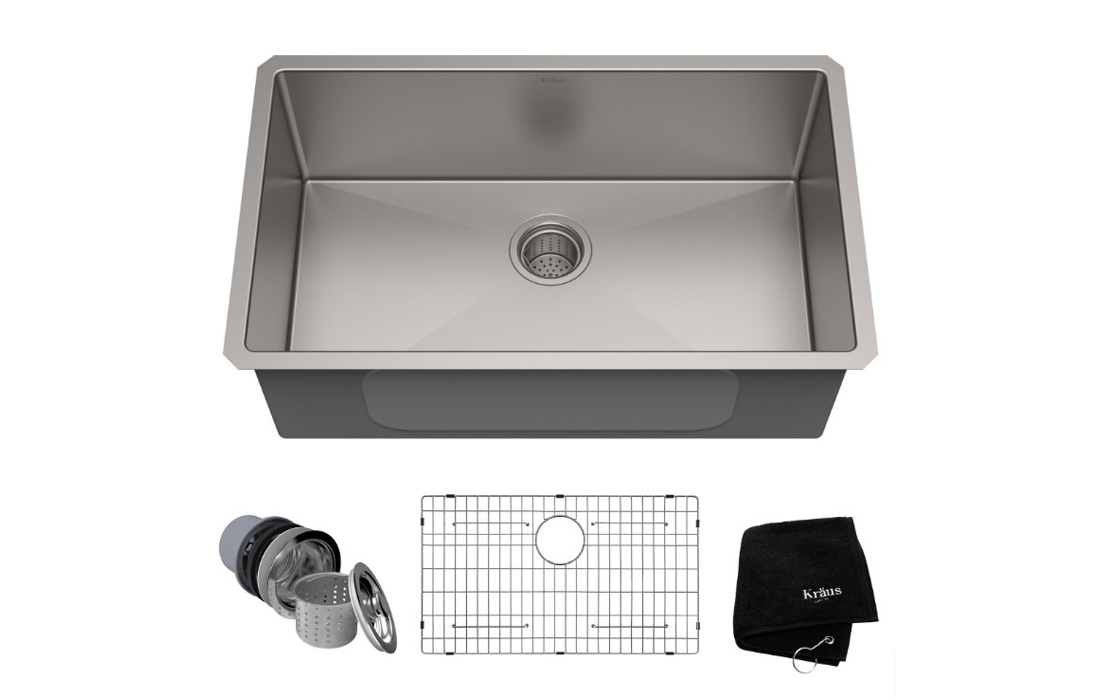 Kraus KHU100-30 Stainless Steel Kitchen Sink