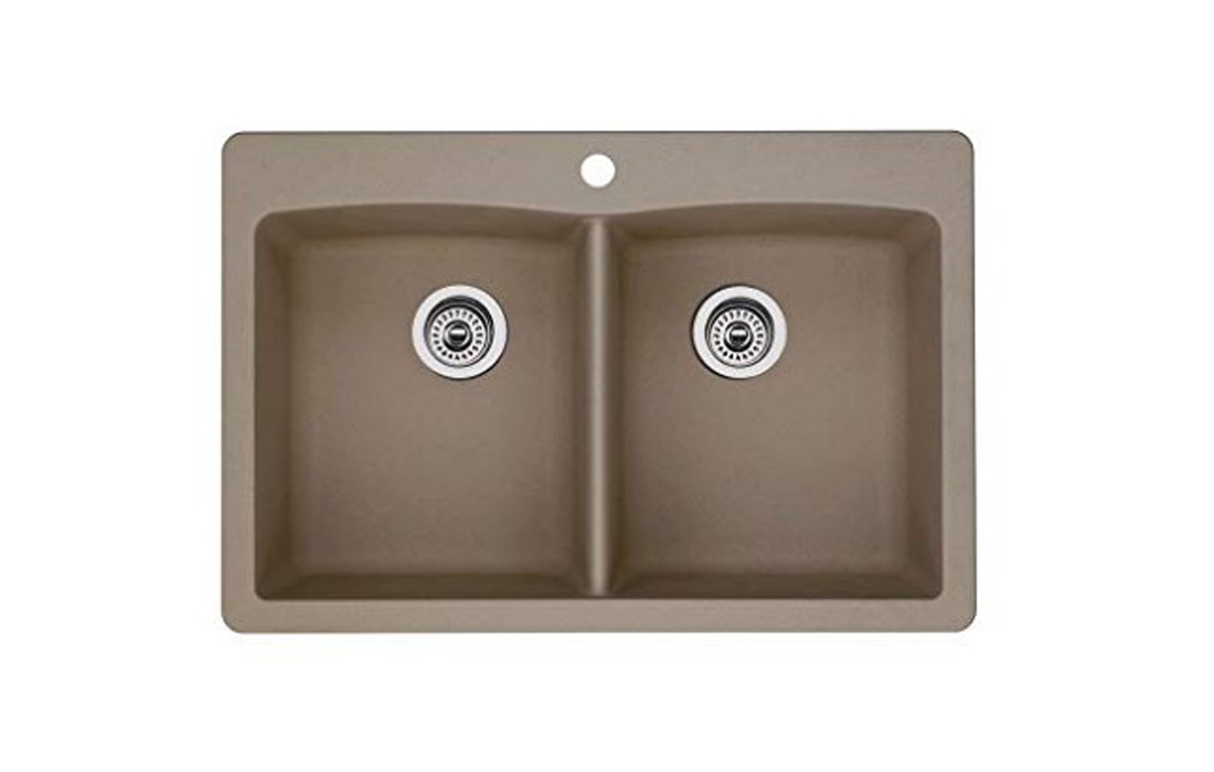 Blanco Diamond 441285 Undermount or Drop-in Kitchen Sink