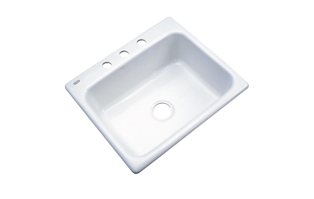 Dekor Sinks 32300 Princeton Cast Acrylic Kitchen Sink