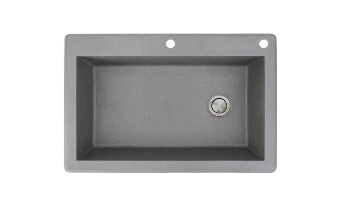 Transolid RTSS3322-17-CE Radius Granite Kitchen Sink