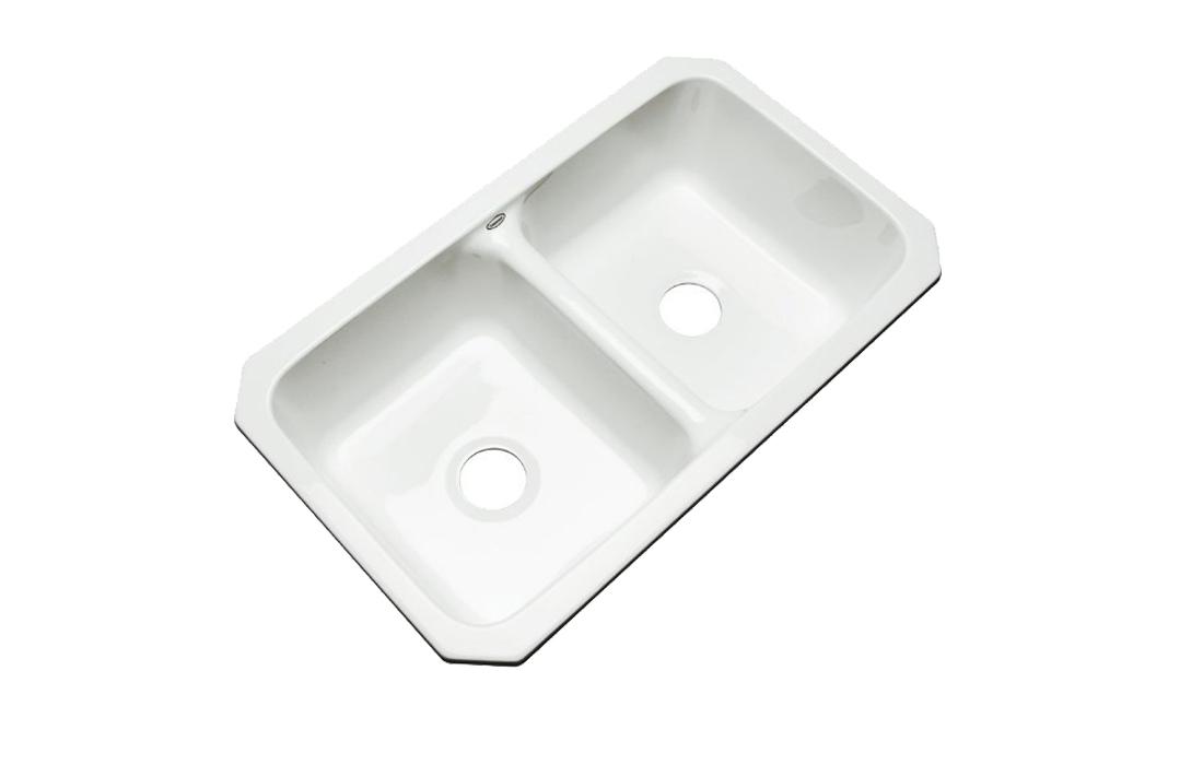 Dekor Sinks 50000UM Westport Cast Acrylic Kitchen Sink