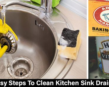 Easy Steps To Clean Kitchen Sink Drain